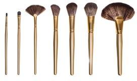 Make-upbürsten Stockfoto