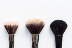 Make-upbürsten Lizenzfreie Stockbilder
