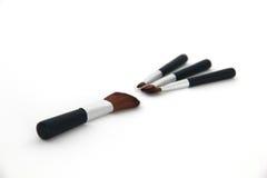Make-upborstel Royalty-vrije Stock Afbeelding
