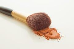 Make-upborstel Royalty-vrije Stock Fotografie