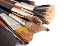 Make-upborstels Royalty-vrije Stock Fotografie