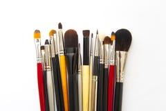 Make-upborstels Stock Afbeeldingen