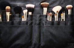 Make-upborstels Stock Fotografie