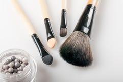 Make-upborstels stock foto
