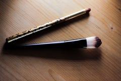 Make-upborstels Stock Afbeelding