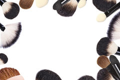 Make-upcollage stockfoto