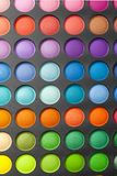 Make-upfarbe-palete Lizenzfreie Stockfotos
