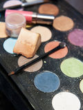 Make-uphulpmiddelen Royalty-vrije Stock Foto's