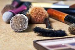 Make-uphulpmiddelen stock afbeeldingen
