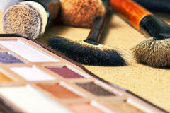 Make-uphulpmiddelen royalty-vrije stock afbeelding