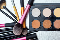 Make-uphulpmiddelen stock foto's