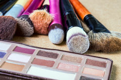 Make-uphulpmiddelen royalty-vrije stock fotografie