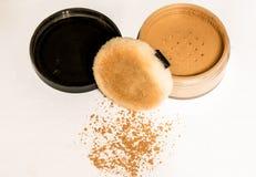 Make-upmaterialen Royalty-vrije Stock Afbeeldingen