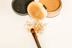 Make-upmaterialen Stock Afbeelding