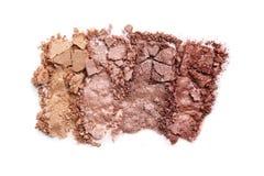 Make-upoogschaduw stock foto's
