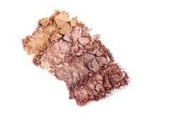 Make-upoogschaduw stock fotografie