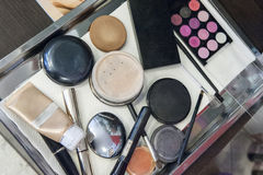 Make-upwerkzeuge Stockfotos