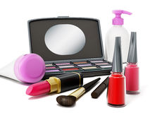 Make-upwerkzeuge stock abbildung
