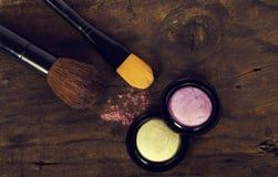 Make-upzubehör lizenzfreie stockfotos