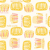 Make a Wish Pattern Royalty Free Stock Photo