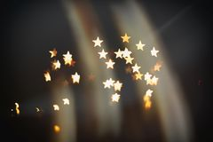 Make a wish. Shooting star abstract blur background (make a wish royalty free stock image