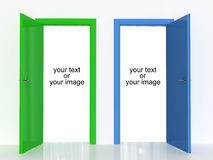 Make your choose Stock Photography