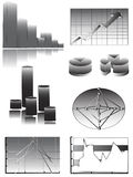 Make your data, statistics or reports royalty free illustration