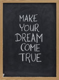 Make your dream come true royalty free stock image