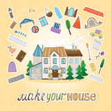 Make Your House Royalty Free Stock Photos
