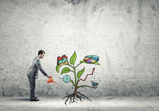 Make your income grow Stock Photos