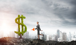 Make your money grow Royalty Free Stock Image