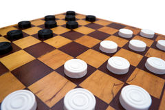 Make your move. On white Royalty Free Stock Photo