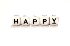 Make your own happiness Royalty Free Stock Images