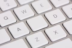 Make your own keyboard key Royalty Free Stock Photo