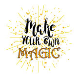 Make your own magic Royalty Free Stock Photography