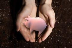 Make your savings grow Stock Image