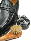Make your shoes shine. Always make sure your shoes shine Royalty Free Stock Photo