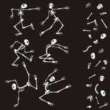 Make your skeleton. Vector illustration make your skeleton Stock Images
