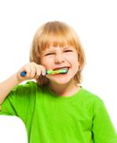 Make your teeth clean Stock Images