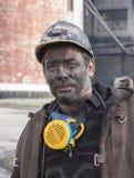Makeevka, de Oekraïne - Oktober 30, 2012: Mijnwerkersmijn yasinovskaya-Gl Stock Fotografie