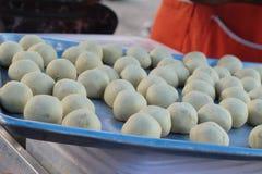 Maken geroosterd stampte bataat fijn is heerlijk stock foto
