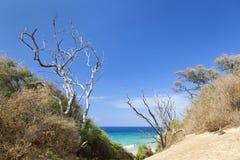 Makena Beach Footpath, Maui imágenes de archivo libres de regalías