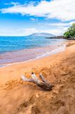 Makena Beach i Maui, Hawaii Royaltyfria Bilder