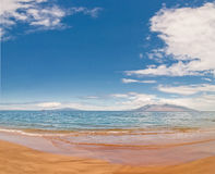Makena Beach in Maui, Hawaii Stock Photography