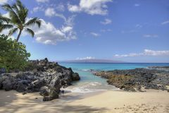 Makena Cove Beach Stock Photography