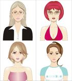 Makeover royalty free illustration