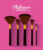 Makeover female design. Vector illustration eps10 graphic Stock Photos