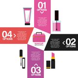 Makeover female design. Vector illustration eps10 graphic Stock Images