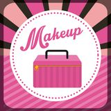 Makeover female design. Vector illustration eps10 graphic Royalty Free Stock Photo