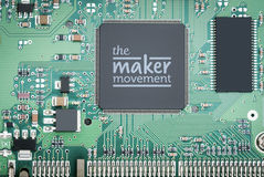 The Maker Movement Royalty Free Stock Photography